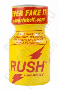 Попперс RUSH LIQUID INCENSE 9 мл - 5 шт