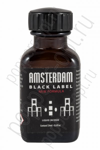 Попперс AMSTERDAM BLACK LABEL 24 мл